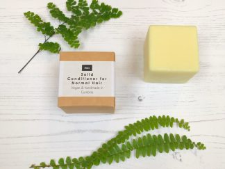 Bain & Savon solid conditioner bar for normal hair with cardboard box packaging | Sage Folk