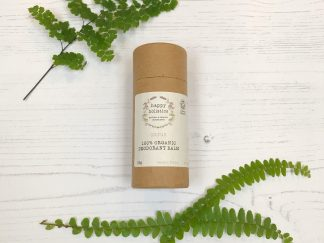 Vegan Natural Plastic Free Deodorant Stick in Cardboard Tube by Happy Holistics | Sage Folk