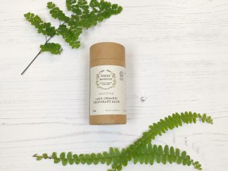 Carboard tube of vegan, organic, bicarb free, natural deodorant | Sage Folk
