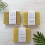 Authentic house zero waste natural shampoo bars with minimal paper packaging | Available at Sage Folk