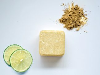 2-in-1 solid shampoo and conditioner bar by Zero Waste Path