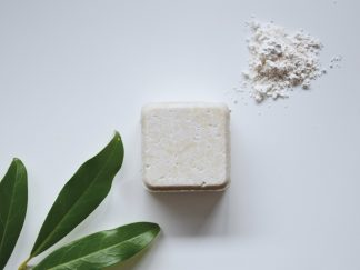 Solid shampoo bar for normal hair by Zero Waste Path