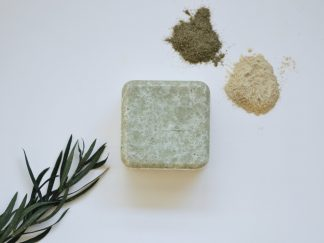 2-in-1 shampoo bar for itchy scalps by Zero Waste Path