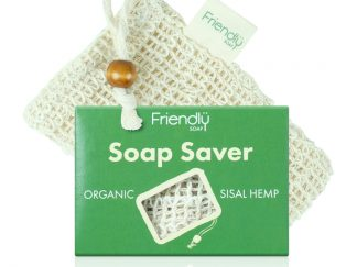 A sisal hemp soap saver pouch. Helps create a lovely lather for soap bars - Available at Sage Folk