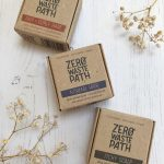2-in-1 shampoo and conditioning bars by Zero Waste Path | Available at Sage Folk