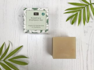 Rosemary natural shampoo bar by Bain & Savon | Available at Sage Folk