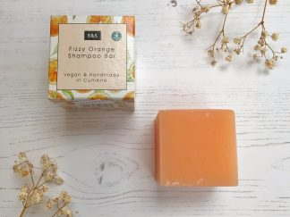 Fizzy Orange Natural Shampoo Bar by Bain & Savon | Available at Sage Folk