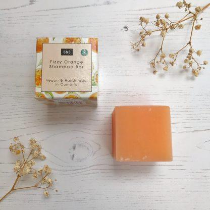 Fizzy Orange Natural Shampoo Bar by Bain & Savon | Available at Sage Folk