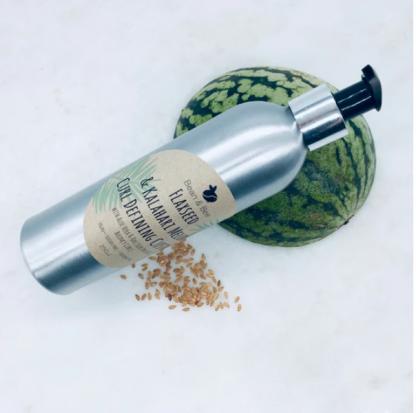 Flaxseed & Kalahari Melon Curl Defining Custard - Bean & Bee