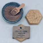 Extra Gentle Baobab Zero Waste Shampoo Bar by Bean & Bee | Available at Sage Folk
