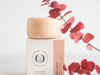 BALANCE shampoo bar for oily hair types by Wild Ona | Available at Sage Folk