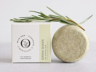 GREEN QUEEN shampoo bar by Wild Ona | Available at Sage Folk