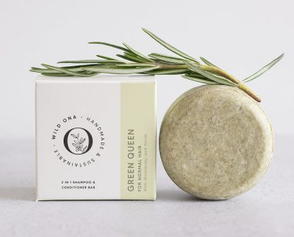 GREEN QUEEN shampoo bar by Wild Ona   Available at Sage Folk