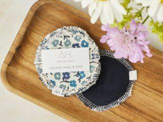 Reusable Cotton Floral Make Up Remover Pads (Set of 5) - Authentic House | Sage Folk